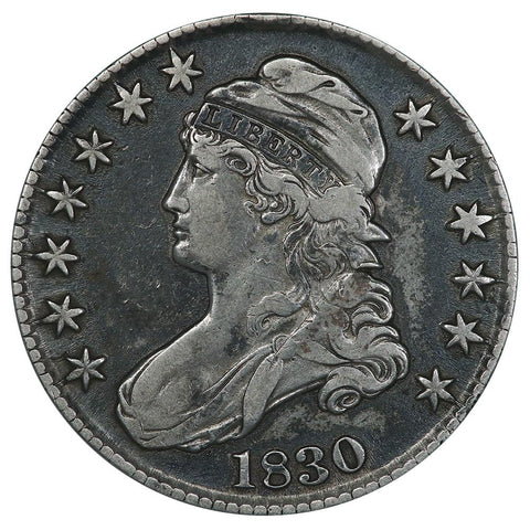 1830 Capped Bust Half Dollar - Overton 113 [R2] - Very Fine