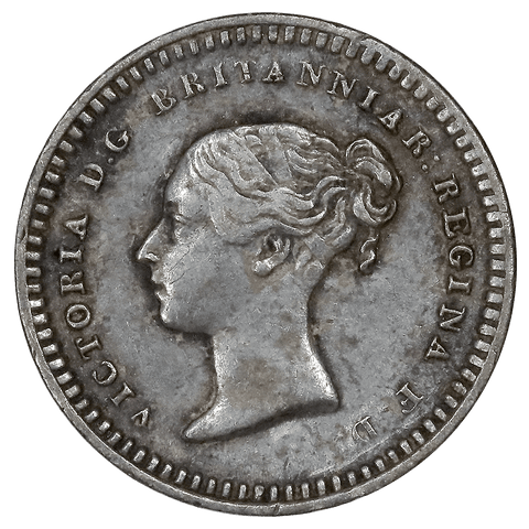 1843 Great Britain Silver 1 1/2 Pence KM. 728 - Extremely Fine