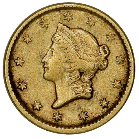 1851 Type-1 Gold Dollar - Extremely Fine