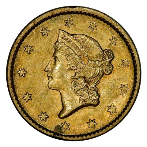 1852 Type-1 Gold Dollar - Extremely Fine
