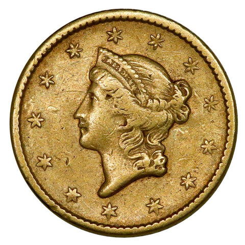 1854 Type-1 Gold Dollar - Very Fine