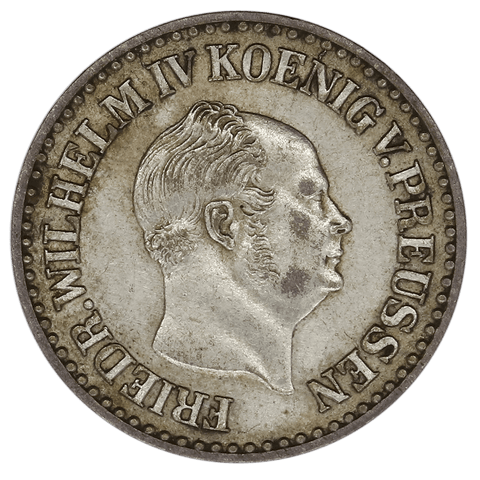 1853-A German States, Prussia Silver Groschen KM.462 - XF