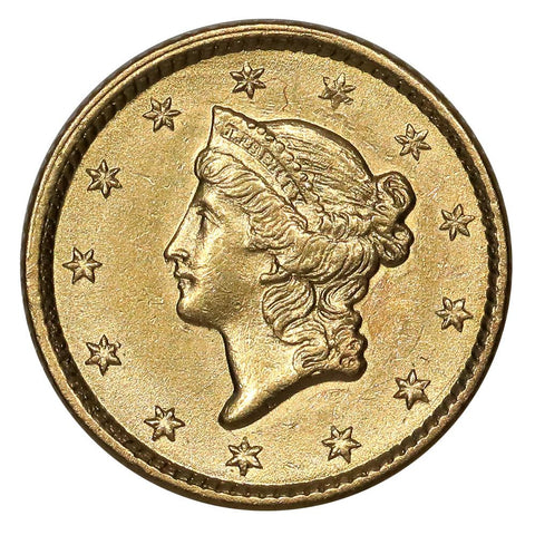 Type-1 Gold Dollars - VF to PQ Brilliant Uncirculated
