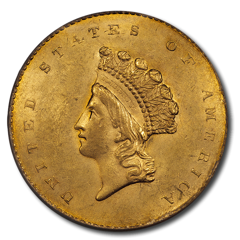Type-1 Gold $1 Special - PQ Brilliant Uncirculated