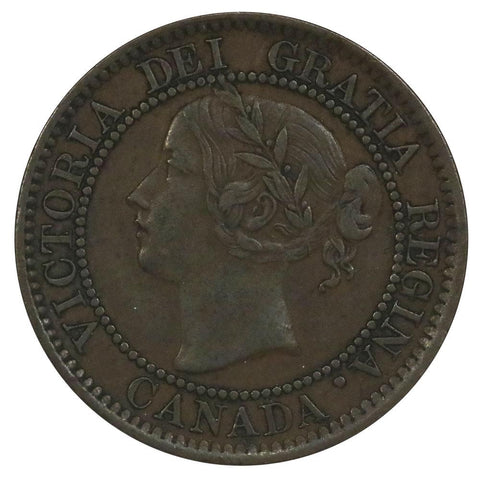 1859 Canada Large Cent - VF