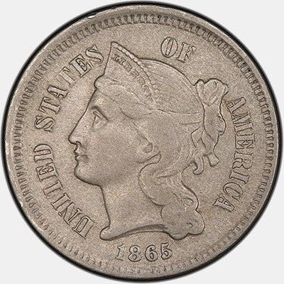 Three Cent Nickel Special - Fine or Better Condition