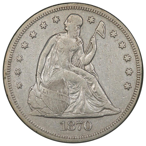 1870 Seated Liberty Dollar - Very Fine