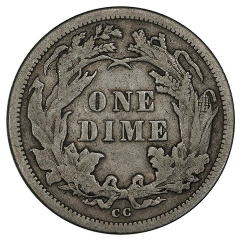 1876-CC Seated Liberty Dime - Choice Very Fine