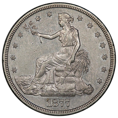 1877-S Trade Dollar - Extremely Fine+
