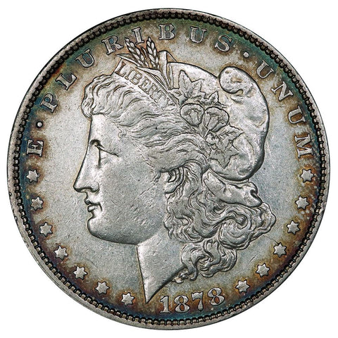 1878 8 Tail Feather Morgan Dollar - Extremely Fine