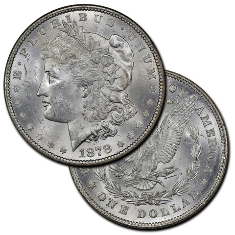 Morgan Dollars by Date (1878-1885) - Brilliant Uncirculated