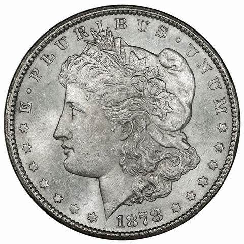 1878-CC Morgan Dollar - First Year of Issue/Carson City - Choice AU