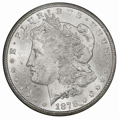 GSA 1878-CC Morgan Dollar - Brilliant Uncirculated - In Box w/ Cert