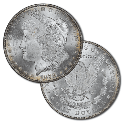 1878-S Morgan Dollar Deal - Premium Quality BU