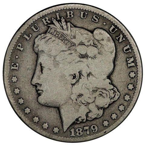 1879-CC Morgan Dollar - Clear - Very Good