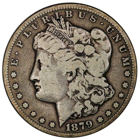 1879-CC Morgan Dollar (Clear) - Fine