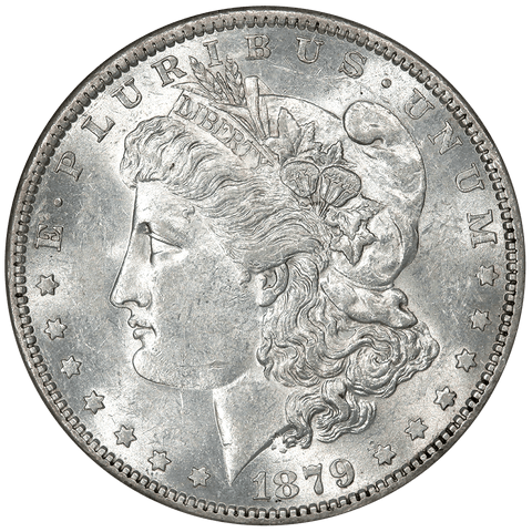 1879-O/O Morgan Dollar Top-100 VAM-4 - NGC AU 58 - Choice About Uncirculated