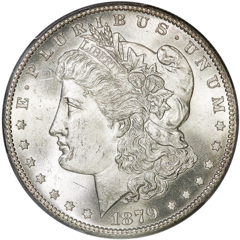 1879-S Morgan Dollar - PCGS MS 64 - Choice Brilliant Uncirculated
