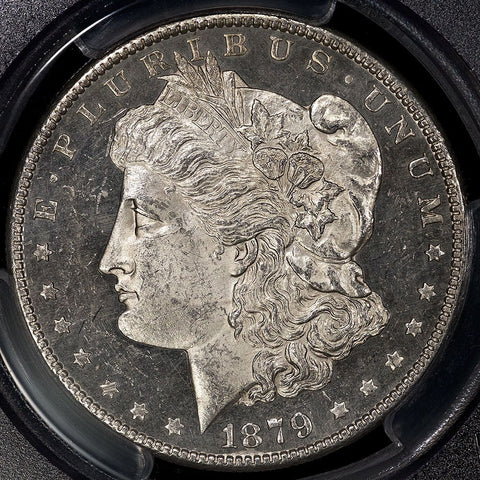 1879-S Reverse of 1879 Morgan Dollar - PCGS MS 61 PL