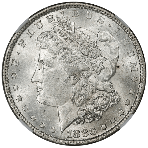 1880 Morgan Dollar - NGC MS 62 - Great Northwest Collection