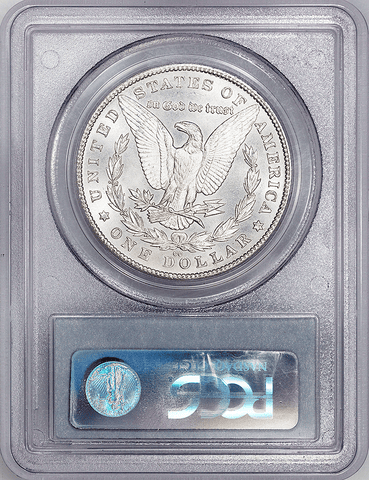 1880-CC 8/7 Low Morgan Dollar - PCGS MS 62 - Top-100 VAM-6