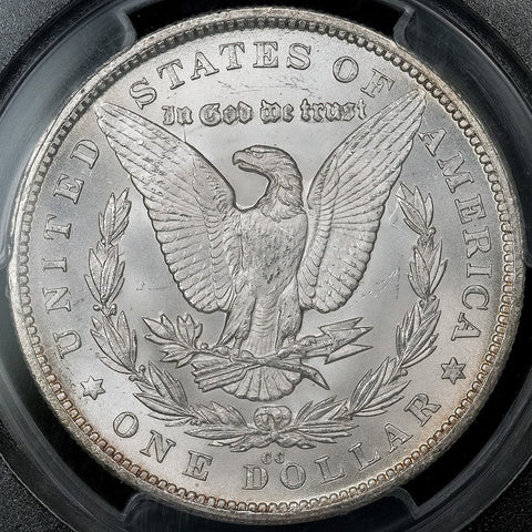 1880-CC Morgan Dollar in PCGS MS 66
