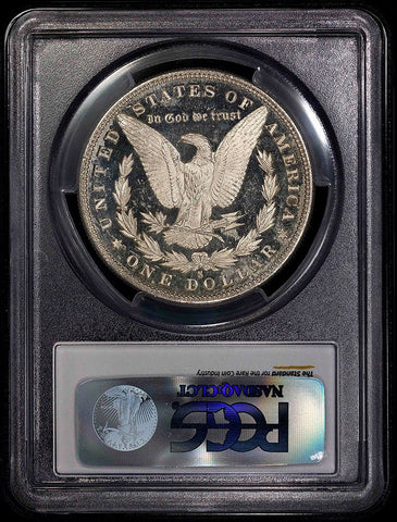 1880-S Morgan Dollar - PCGS MS 61 PL