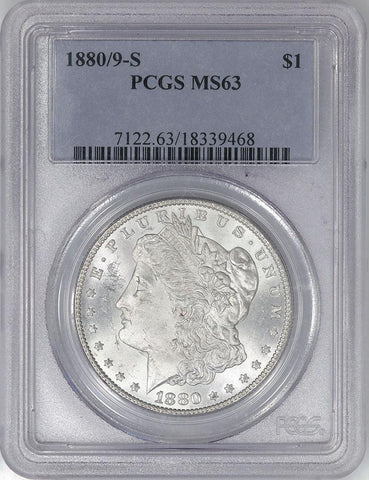 1880/9-S Morgan Dollar VAM-11 - PCGS MS 63 - Choice Uncirculated
