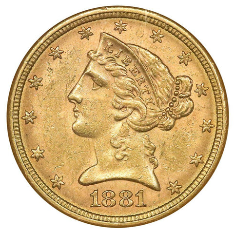 Certified $5 Liberty Head Gold Coin Deals - All ANACS, NGC or PCGS Certified