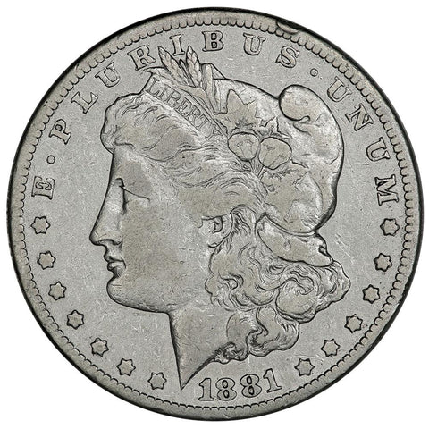1881-CC Morgan Dollar - Very Good - Carson City