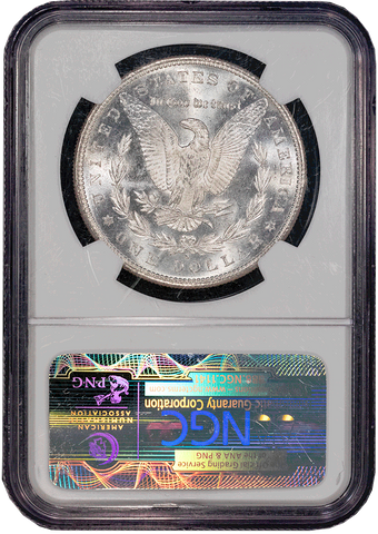 1881-S Morgan Dollar in NGC MS 65 - Gem Brilliant Uncirculated