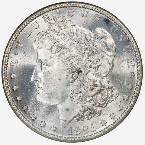 1881-S Morgan Dollar - NGC MS 66 - Gem Brilliant Uncirculated