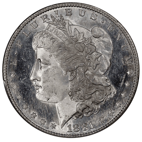 Prooflike 1881-S Morgan Dollar - PCGS MS 62 PL