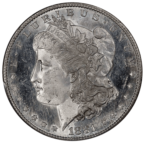 1881-S Morgan Dollar - PCGS MS 62 PL