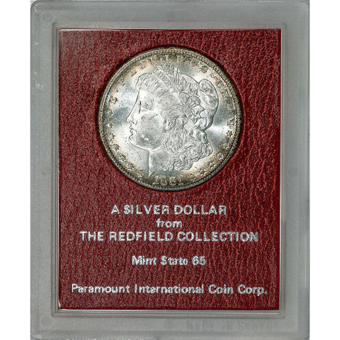 1881-S Morgan Dollar - Redfield Collection MS 65