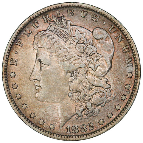 1882-O/S Top-100 VAM-3 Flush O/S Morgan Dollar - Very Fine