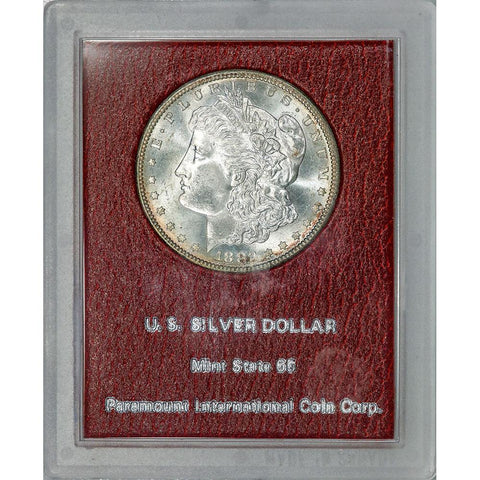 1882-S Morgan Dollar - Redfield Collection MS 65