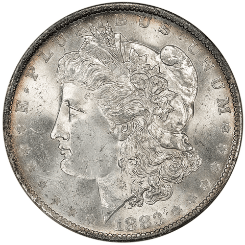 1883-O/O Top-100 VAM-4 Morgan Dollar - ANACS MS 63