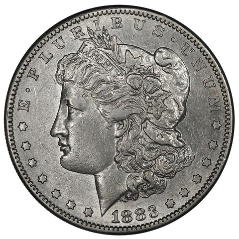 1883-S Morgan Dollar - About Uncirculated