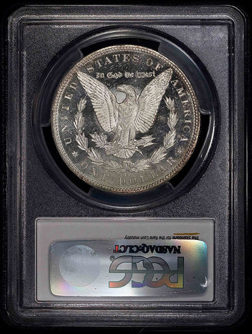 1884-CC Morgan Dollar - PCGS MS 61 DMPL