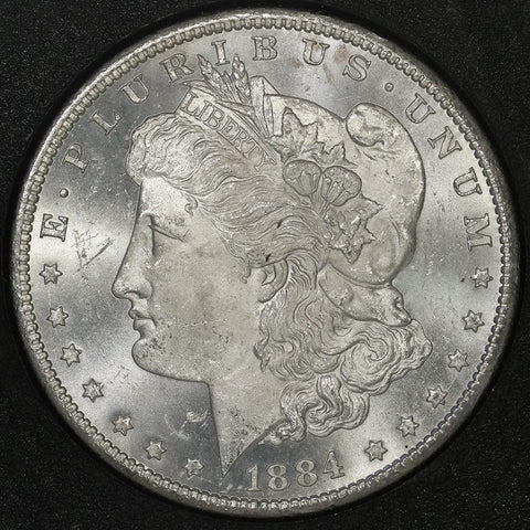 Flash Sale! - 1884-CC Morgan Dollar in GSA in Box with Cert Special