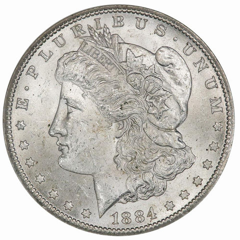 1884-CC Morgan Dollar - NGC MS 63 - Choice Uncirculated