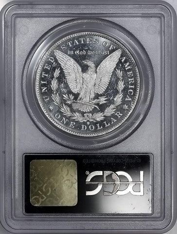 1884-O Morgan Dollar - PCGS MS 63 DMPL Black & White Cameo
