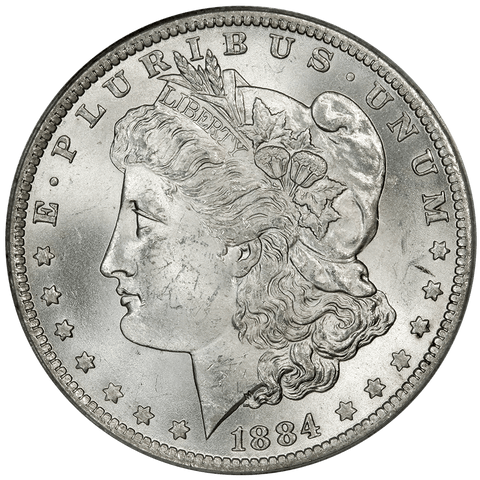 1884-O/O Hot-50 VAM-10 Morgan Dollar - ANACS MS 63