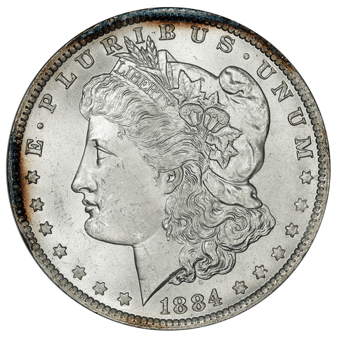 1884-O/O Hot-50 VAM-10 Morgan Dollar - ANACS MS 64 - Pretty Coin
