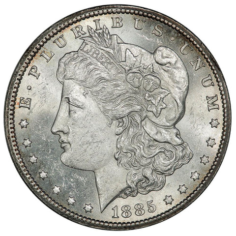 1885-CC Morgan Dollar - Choice Brilliant Uncirculated