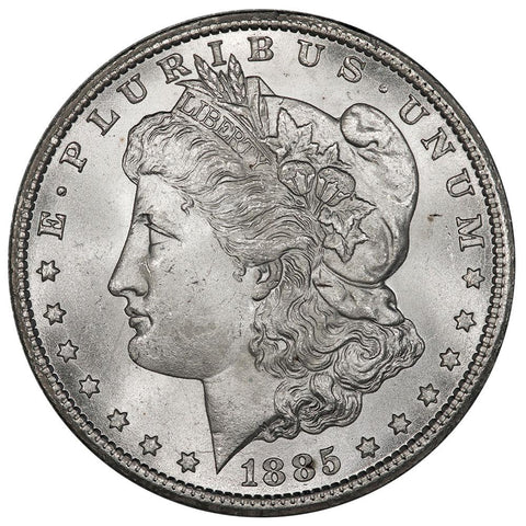 1885-CC Morgan Dollar VAM-2A - Choice Brilliant Uncirculated+