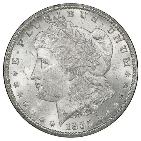 1885-CC Morgan Dollar - GSA - Choice Brilliant Uncirculated