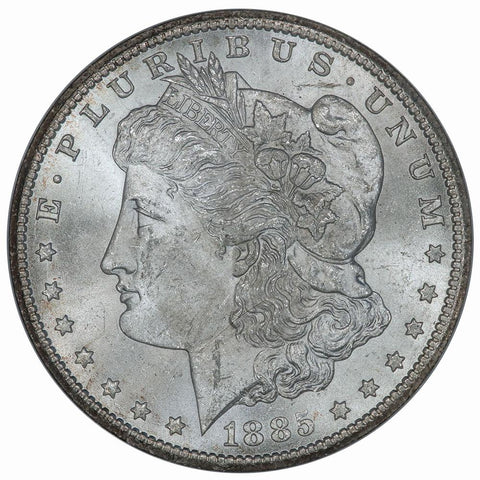 1885-CC Morgan Dollar - NGC MS 63 - Choice Uncirculated