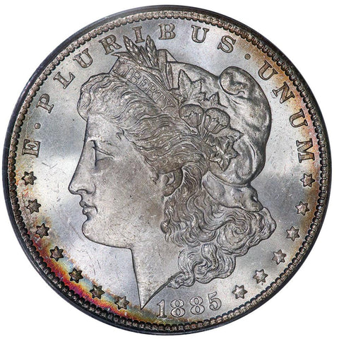 1885-CC Morgan Dollar - PCGS MS 64 - Choice Uncirculated+